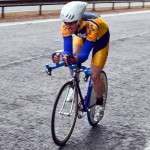Jim Trevor pictured in the Scottish 10 mile TT Championship 2012 - courtesy of VeloVeritas