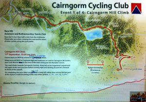Cairngorm Hill Climb Route