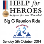 Big G Reunion Help for Heroes 2014
