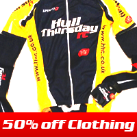 50 per cent off clothing